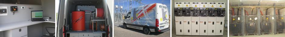 Descargas parciales - Ensayos electricos - Averias cables